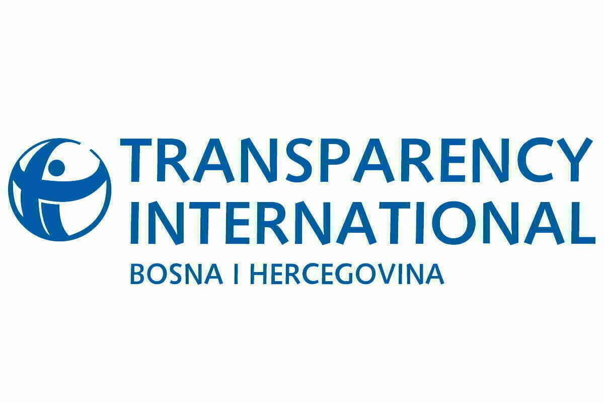 Slikovni rezultat za Transparency International BiH